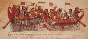 Byzantine Sea Battle