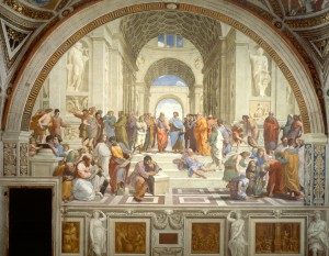 Suppression of the School of Athens